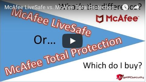 McAfee LifeSafe vs Total Protection Thumb GPS
