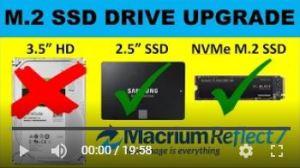 m.2 ssd drive upgrade